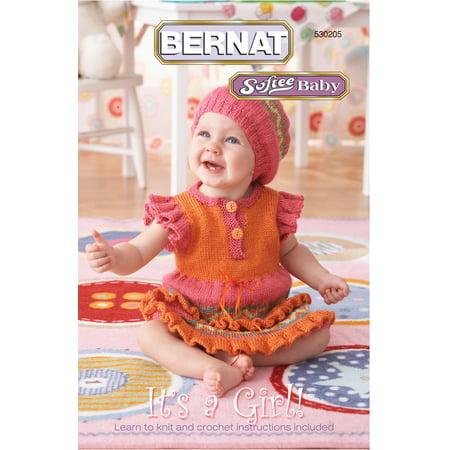 Bernat Softee Baby It's a Girl Pattern Booklet