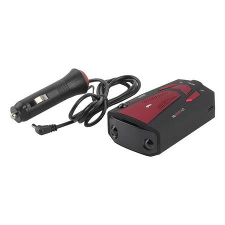Blue Car Radar Detector 16 Band Voice Alert Laser V7 Led Display