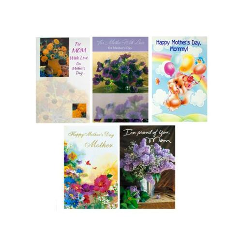 Bulk Buys OP535-24 Mothers Day Card Assortment