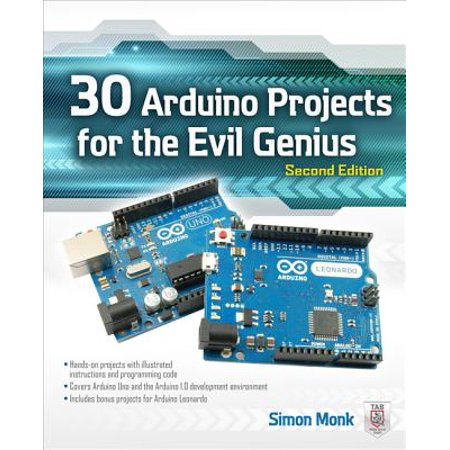 30 Arduino Projects for the Evil Genius, Second - 2nd Grade Halloween Art Projects