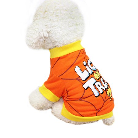 Ropalia Halloween Funny Pet Dog Clothes Doggy Apparel for $<!---->