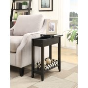 Convenience Concepts American Heritage Flip Top End Table, Multiple Colors