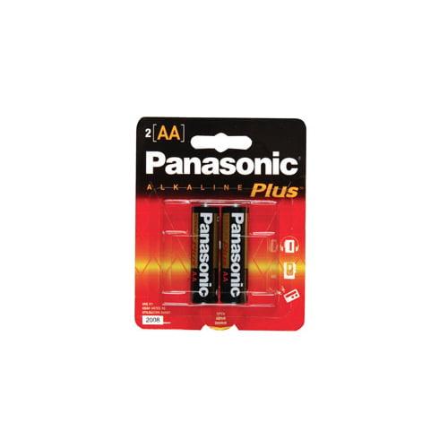 Panasonic AM-3PA/2B 2-Pack AA Cell Batteries
