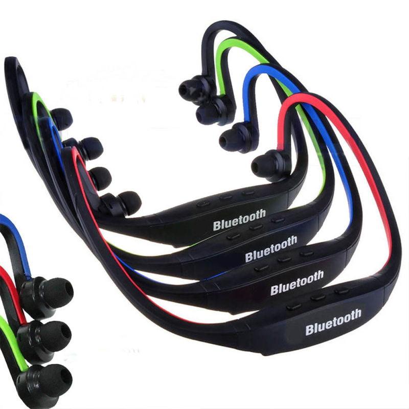 Wireless Bluetooth Headset Stereo Headphone Earphone Handfree Sport Universal VP
