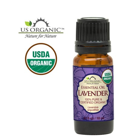 100% Pure Certified USDA Organic - Lavender Essential Oil