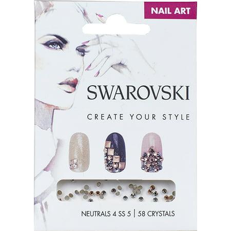 Swarovski Nail Art Loose Crystals Neutral 4 Ss5 Walmart
