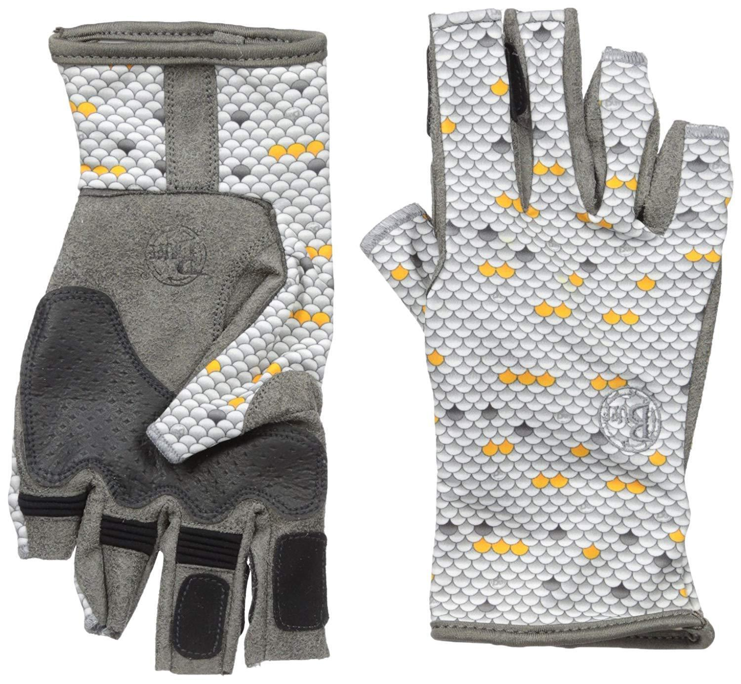 Buff Pro Series Angler Gloves, Scales, X-Large/XX-Large