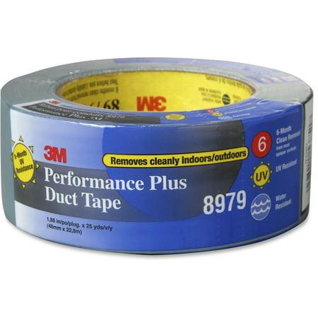 Blue Duct Tape (3M, MMM8979SB25, 8979 Performance Plus Duct Tape, 1 / Roll, Slate)