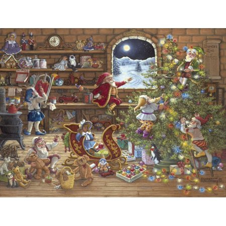 Countdown To Christmas Poster Print by Janet Kruskamp ()