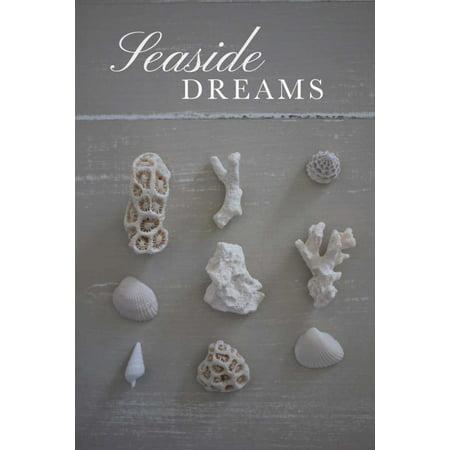 Seaside Dreams Poster Print by PS Art Studios
