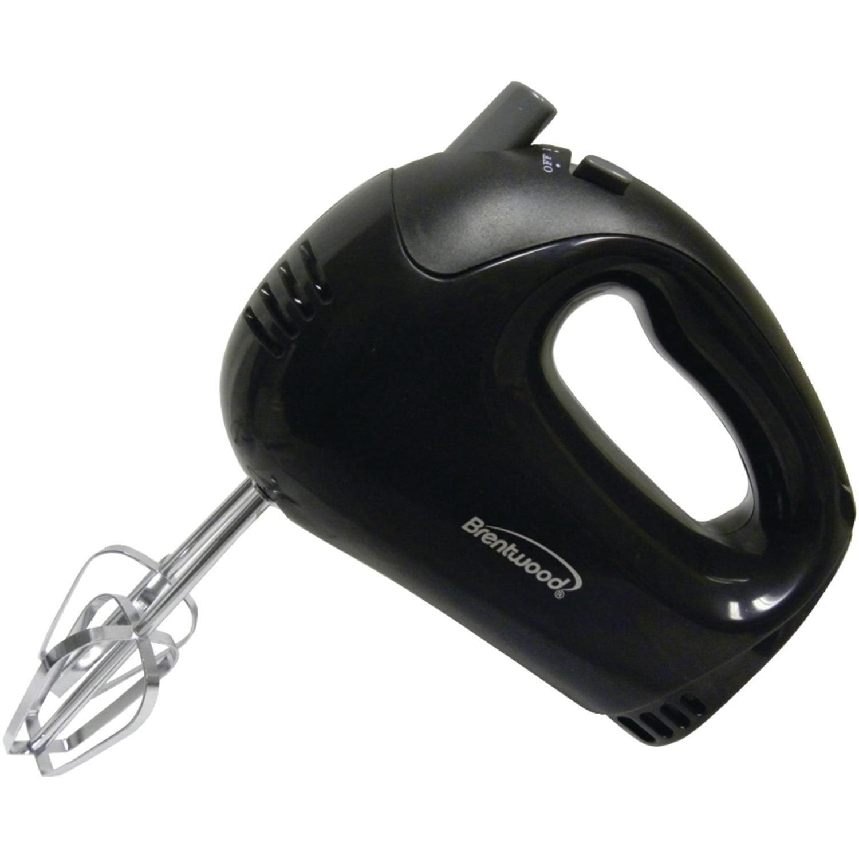 Brentwood Appliances 5-Speed Hand Mixer, Black (HM-44)