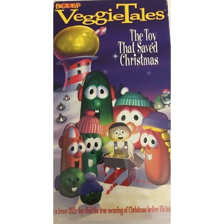VeggieTales-The Toy That Saved Christmas (VHS,1998)TESTED-RARE-SHIPS N 24 HOURS ()