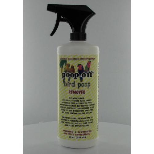 Poop-Off Bird Poop Remover, Spray, 32 fl oz