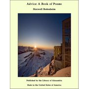 Advice: A Book of Poems - eBook