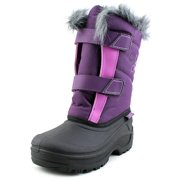 Tundra Hudson Youth  Round Toe Synthetic Purple Snow Boot