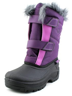 5de64bd0e055 Product Image Tundra Hudson Youth Round Toe Synthetic Purple Snow Boot