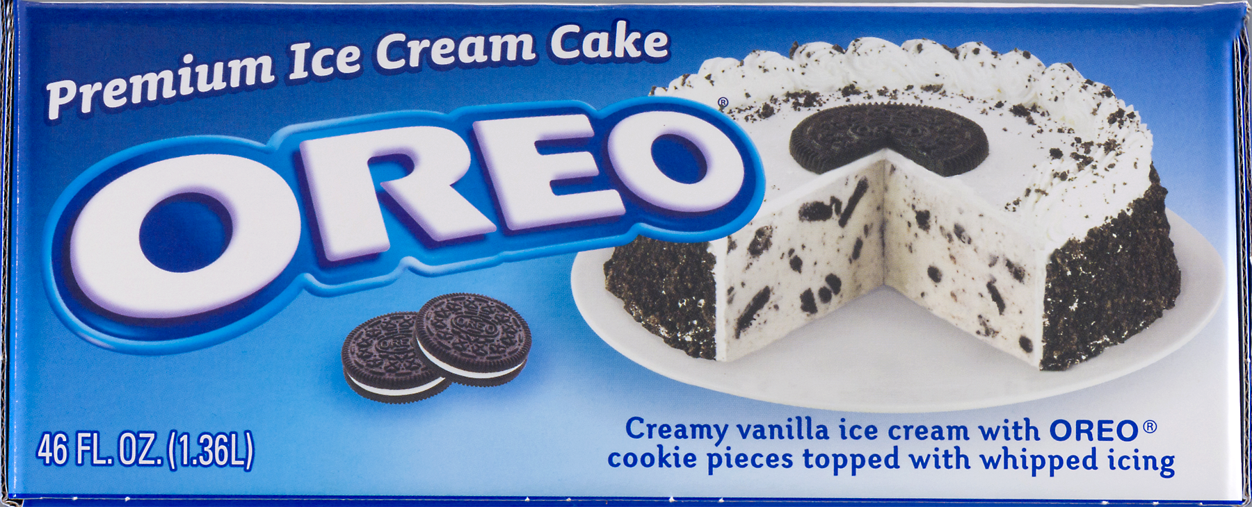 Celebration Foods Oreo Premium Ice Cream Cake 48 oz Walmartcom
