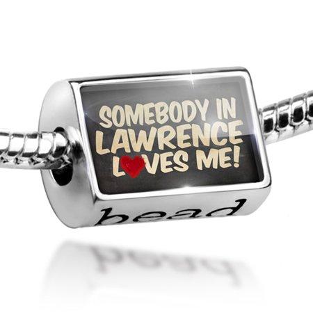 Bead Somebody in Lawrence Loves me, Massachusetts Charm Fits All European Bracelets - Beading Supplies Near Me
