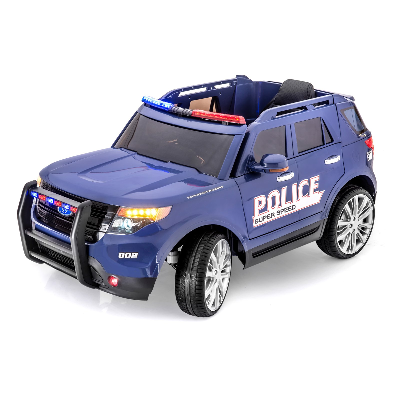 SPORTrax Ford Explorer Style Police Truck Battery Powered...