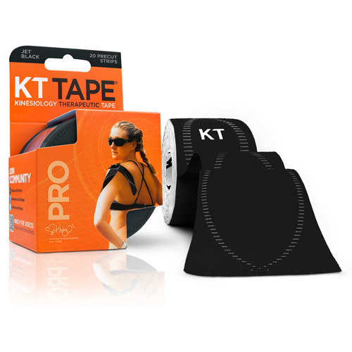 KT TAPE PRO, Pre-cut, 20 Strips, Synthetic