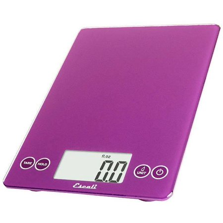 - Escali - Arti Glass Digital Food Scale 157DP Deep Purple