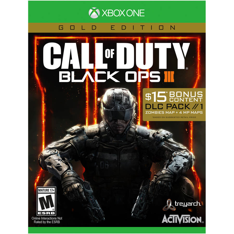 Call of Duty: Black Ops 3 Gold Edition, Activision, Xbox One, 047875878013
