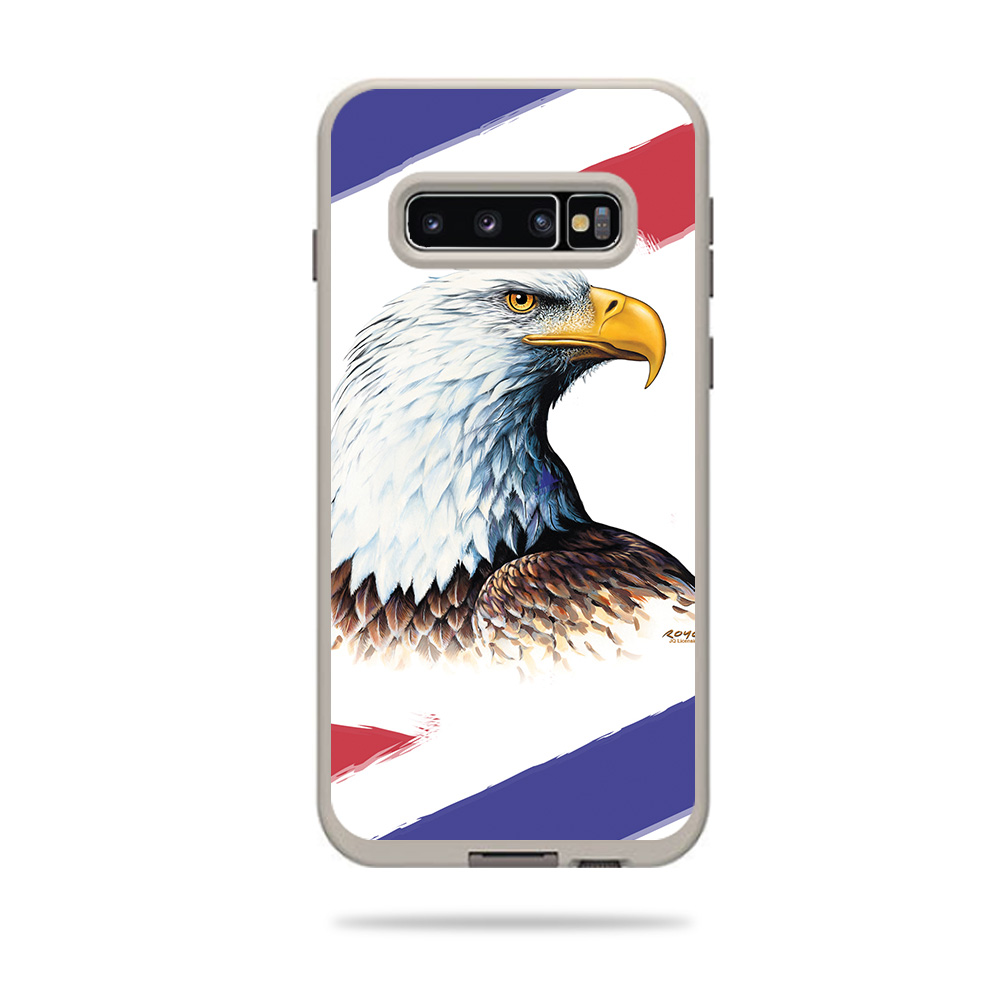MightySkins Skin Compatible with Lifeproof Fre Case Samsung Galaxy S10+ Ocean Song and Unique Vinyl Decal wrap Cover Made in The USA Protective Remove Durable Easy to Apply