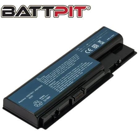 BattPit Acer Aspire 6530G-802G32Mn Aspire 6920 Aspire 6920 Series Aspire 6920-602G16 Aspire 6530G Series Part# : AS07B31 AS07B41 AS07B51 AS07B61 AS07B71 Laptop Battery (Aspire Cf Battery)