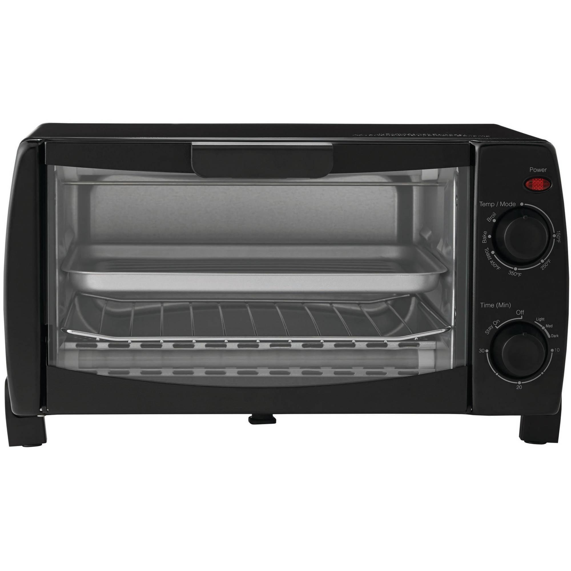 slice toaster diamond black vonshef