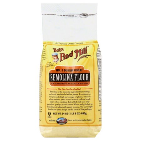 Bob's Red Mill No. 1 Durum Wheat Semolina Flour, 24 oz