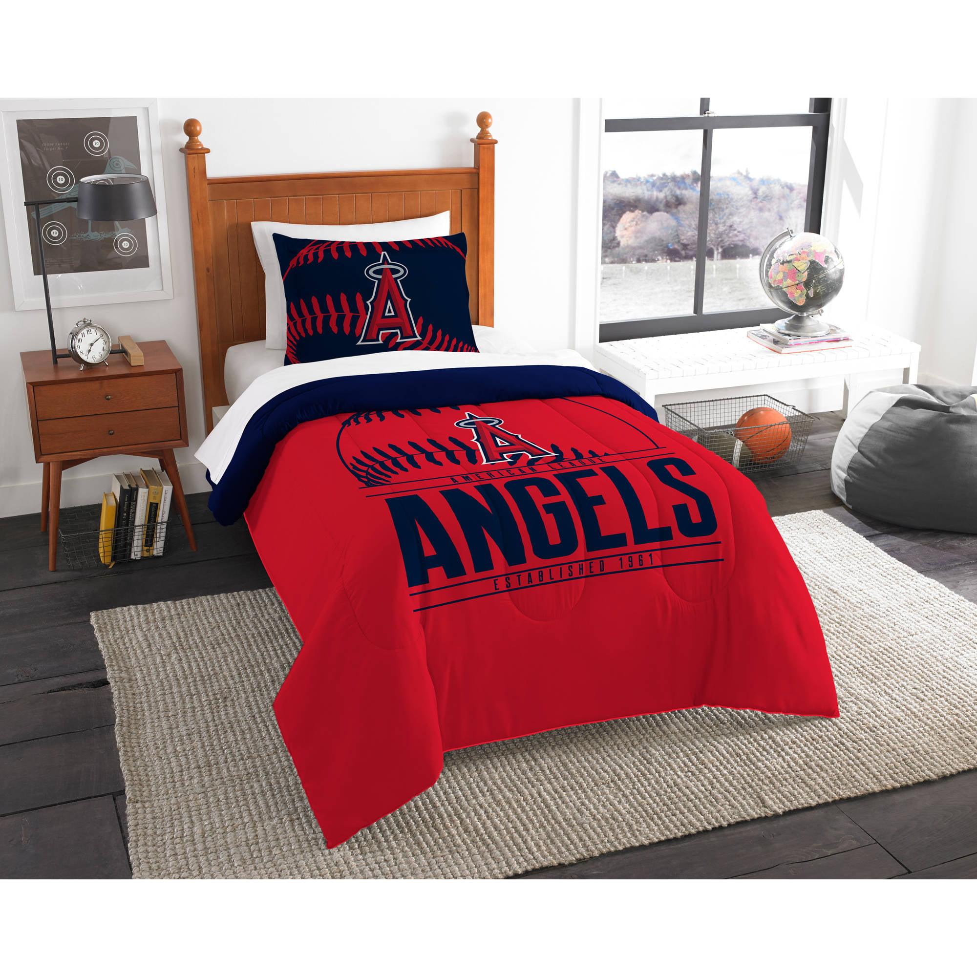 "MLB Los Angeles Angels ""Grand Slam"" Bedding Comforter Set"