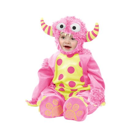Child Pink Mini Monster Toddler Halloween Costume - Disfraces De Halloween Mimi