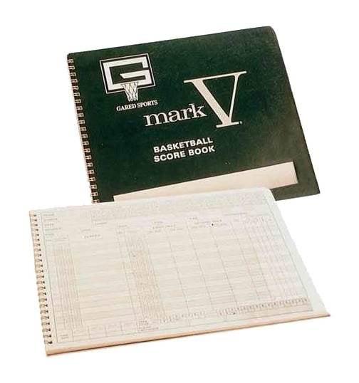 Mark V Basketball Scorebook by Gared Holdings