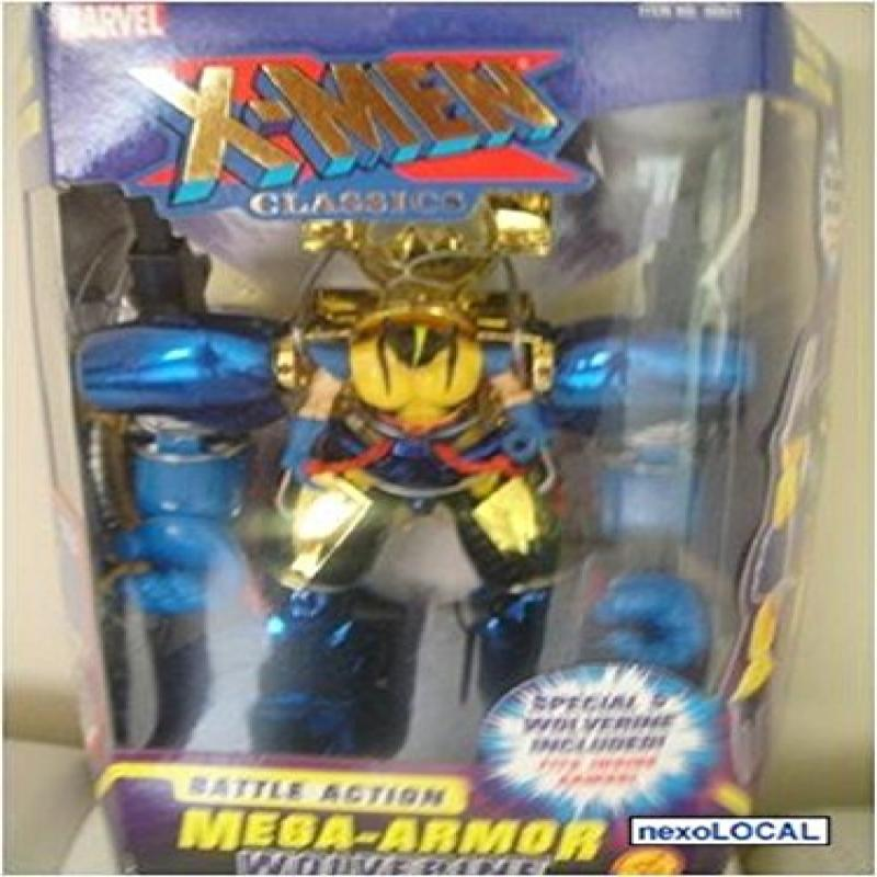 Marvel X-Men Classics Battle Action Mega-Armor Wolverine by