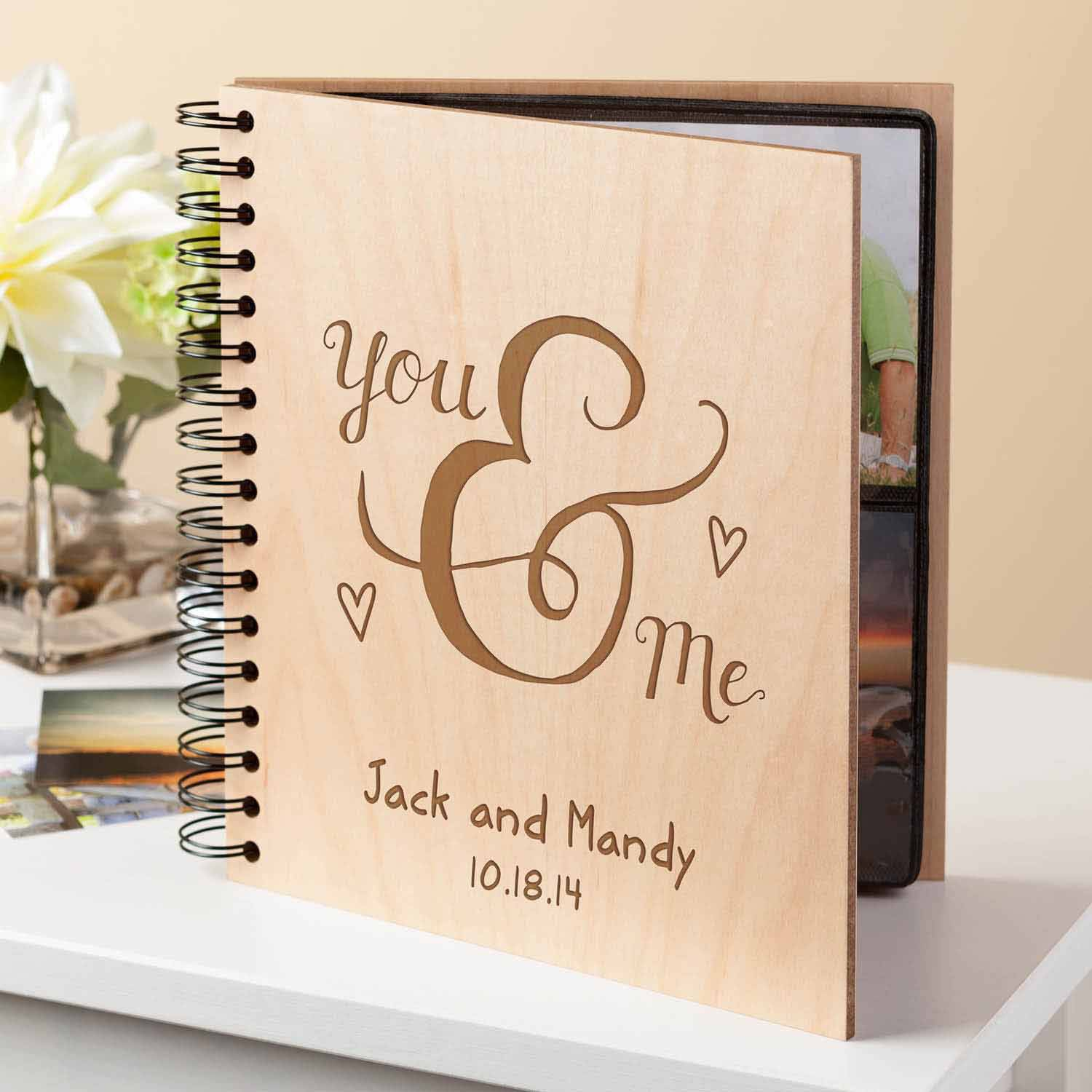 Personalized Photo Album - You and Me