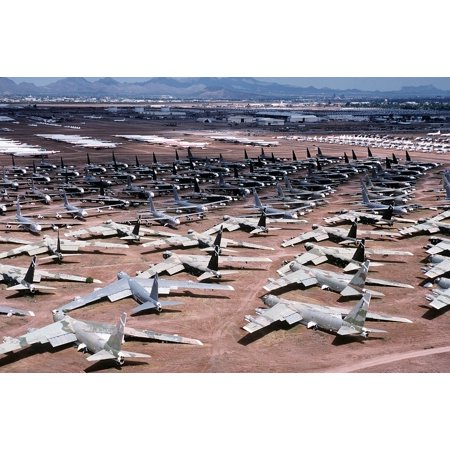 Jet Bombers - Canvas Print Bombers Aerospace Storage Jets Military B-52's Stretched Canvas 32 x 24