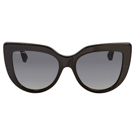 GUCCI GG0164S 001 Black Cateye (Gucci Sport Sunglasses)
