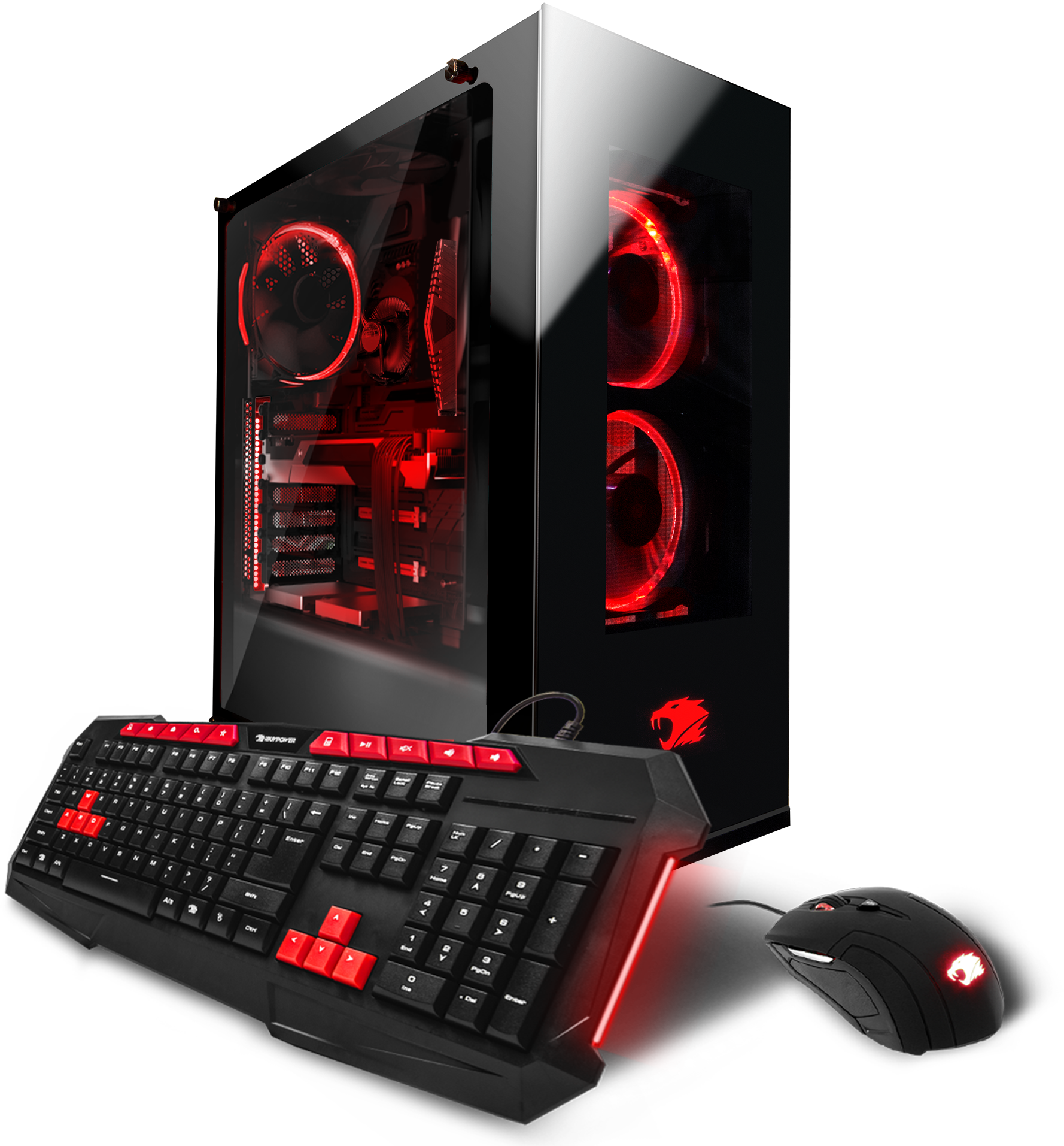 iBUYPOWER Element003i gaming Desktop PC with Intel 8th Gen i7-8700k, GTX 1080 8GB Graphics, 2TB Hard Drive, 480GB SSD, and 16GB Memory, and Windows 10 Home. (Monitor Not Included)