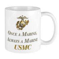 CafePress - USMC Always A Marine Mug - Unique Coffee Mug, Coffee Cup CafePress