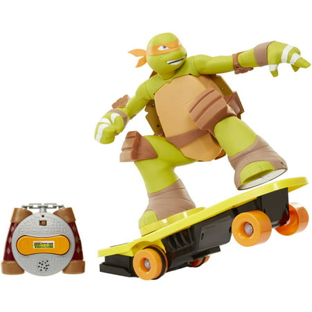 Teenage Mutant Ninja Turtles Remote Control Skateboarding Mikey, Walmart Exclusive