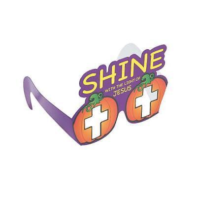 IN-13776196 Christian Pumpkin Paper Glasses Per Dozen