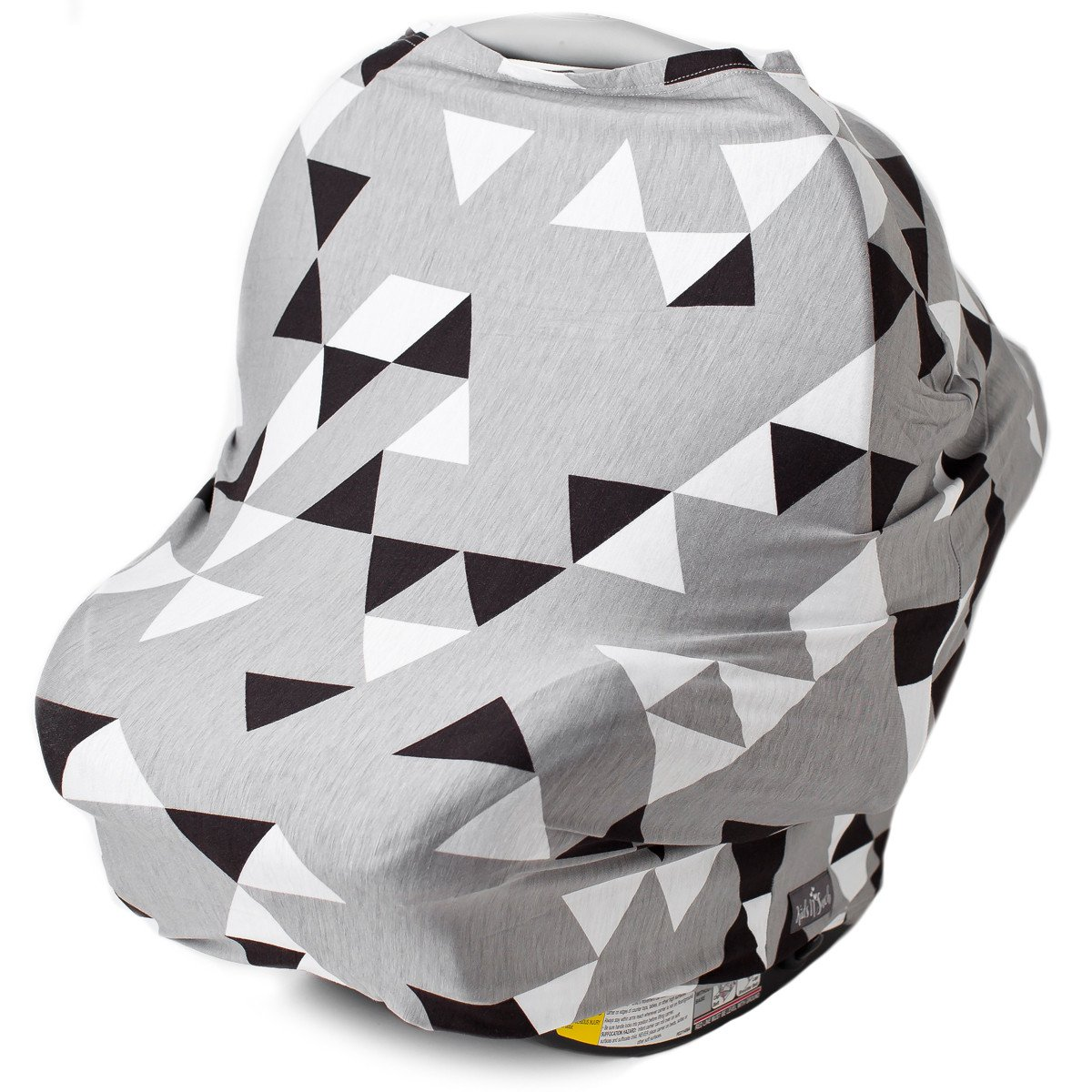 Kids N' Such Multi Use Car Seat Canopy, Nursing Cover, Shopping Cart Cover, and Breastfeeding Scarf- Geometric... by Kids N%27 Such