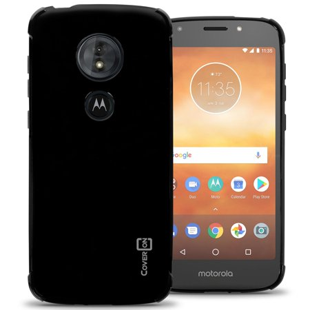 reputable site 60136 24b7b CoverON Motorola Moto E5 Play Case, FlexGuard Series Soft Flexible Slim Fit  TPU Phone Cover