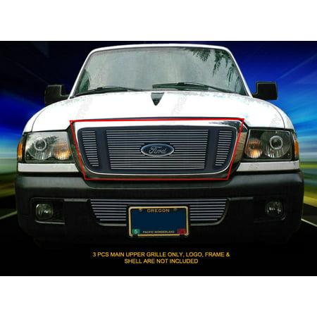 4wd Precision Grilles (Fedar Main Upper Billet Grille For 2004-2005 Ford Ranger 4WD FX4 )