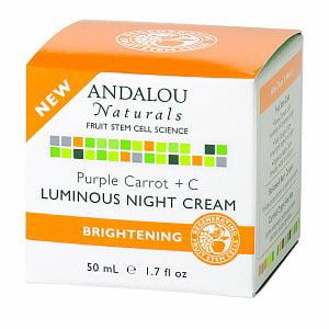 ANDALOU NATURALS Purple Carrot Luminous Night Cream 1.7 OZ