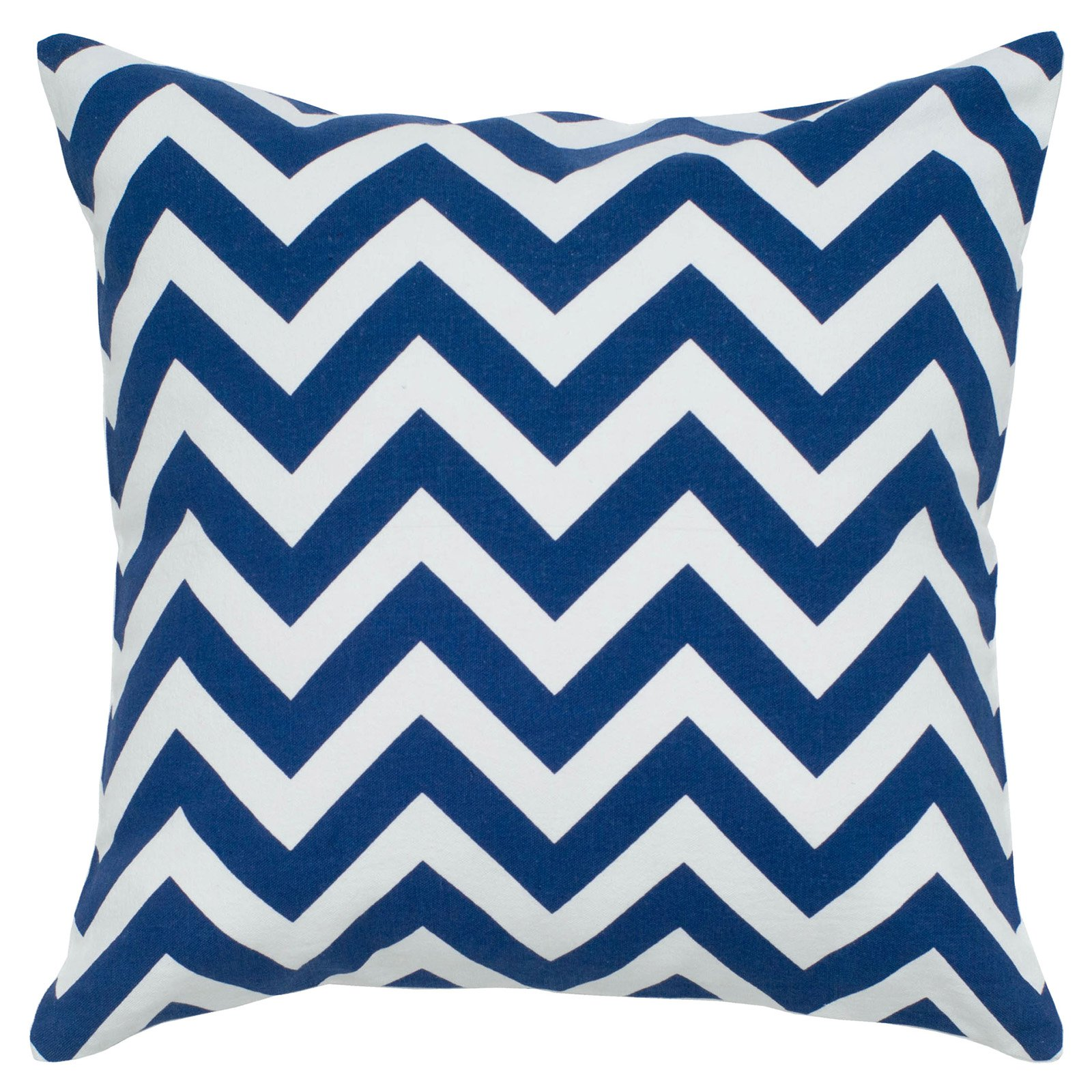 "Rizzy Home chevron18"" x 18""Cotton decorative filled pillow"