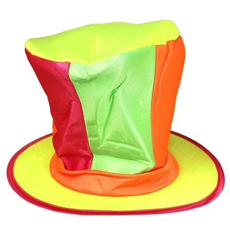 Neon Mad Hatter Hat