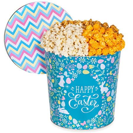 Easter Popcorn Tin - Traditional 2 Gallon - Traditional 2 Gallon - Halloween Popcorn Tin