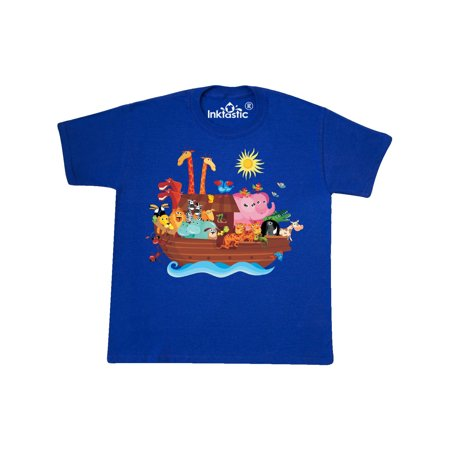 Animal Ark Bible Story Christian Youth T-Shirt - Purple Bow Meaning