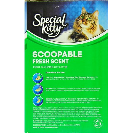 Special Kitty Scoopable Tight Clumping Cat Litter Fresh